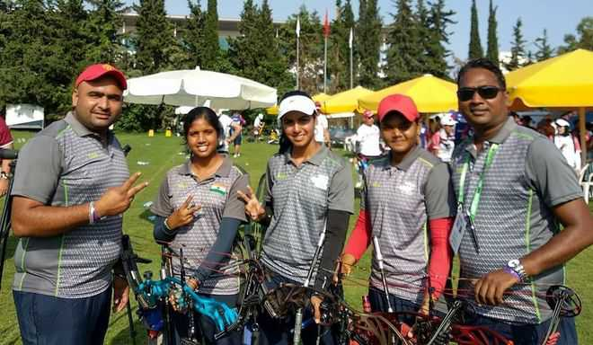 World Cup: Indian archers  shoot down silver, bronze
