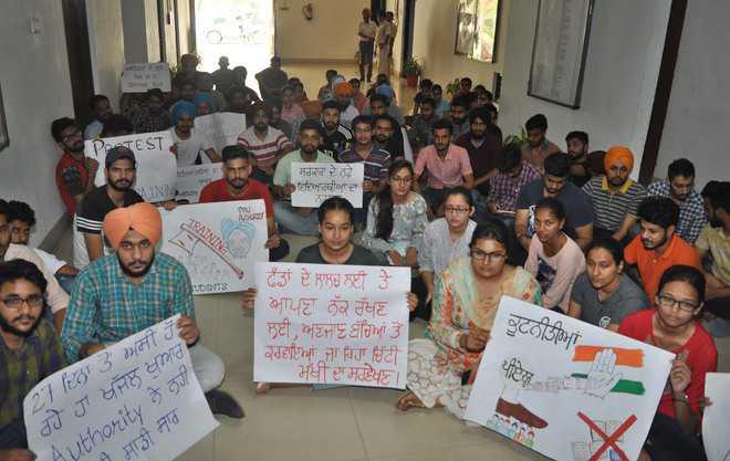 Students, PAU authorities break the ice