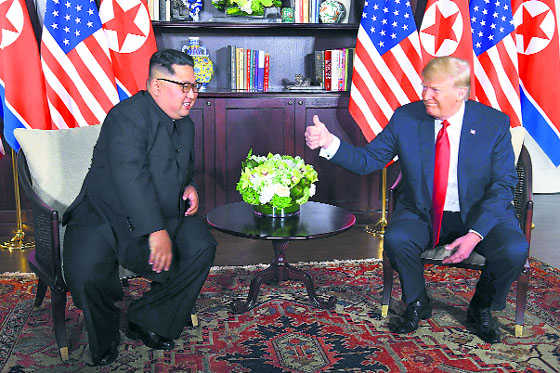 Trump's nuke-clear thumbs-up