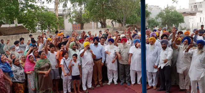 All-Cong team in Sarabha society sparks protest