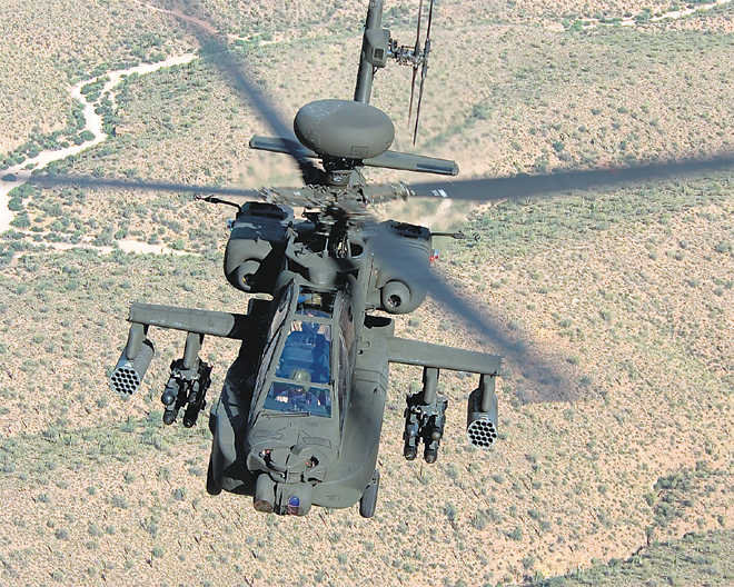 India to get six Apache US copters for $930 m
