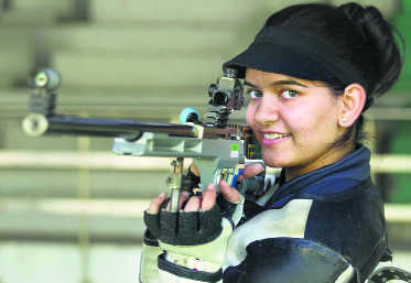 Adarsh bags two gold medals, Anjum finishes third