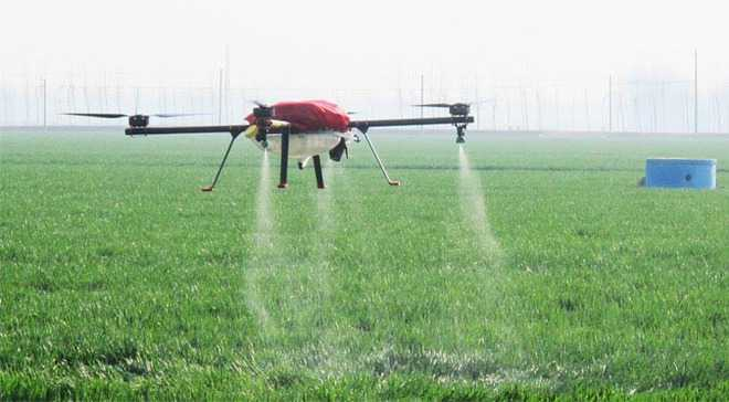 Soon Farmers In State May Use Drones For Spraying Fields