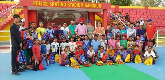 55 slum kids set to realise their skating dream