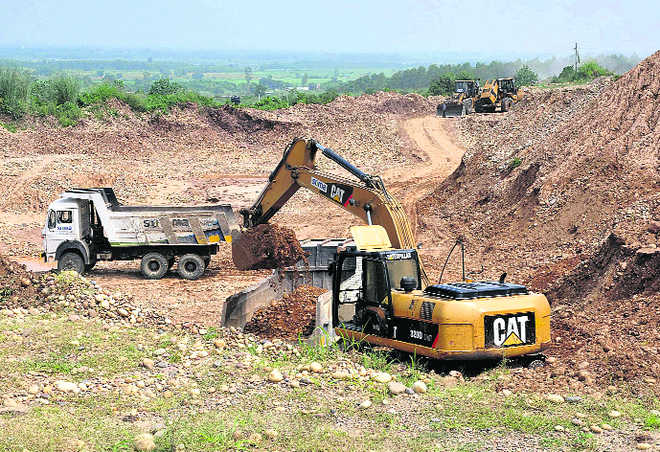 Govt allows use of JCB machines for mining