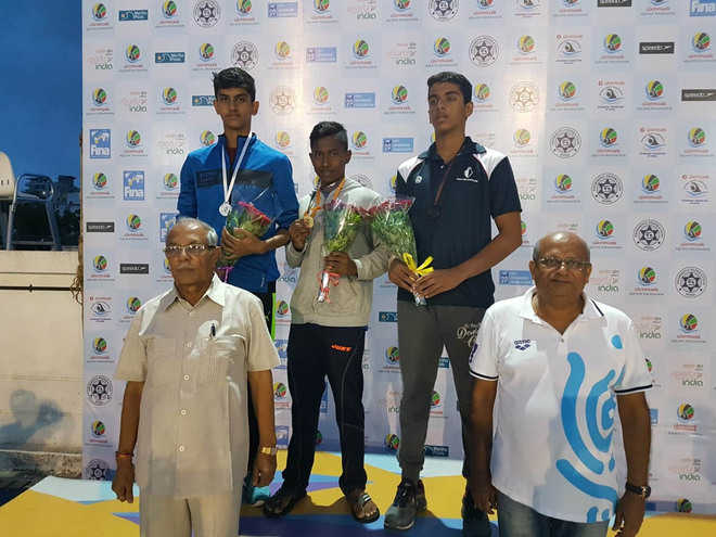 City lad secures silver medal on Day 1