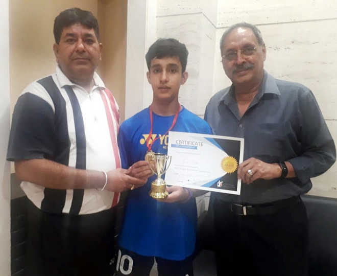 City shuttler wants to shine in Olympics