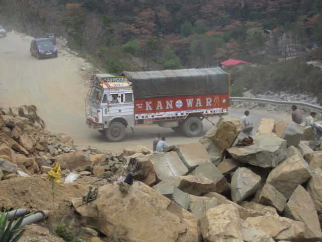 Overloaded Trucks Flout Norms Damage Roads