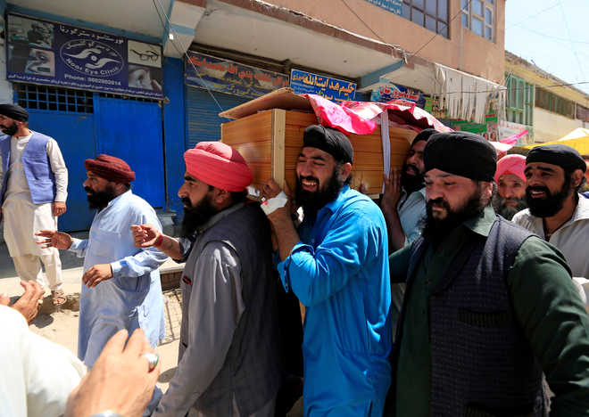 Afghan Sikhs, Hindus grieve after suicide attack kills 19