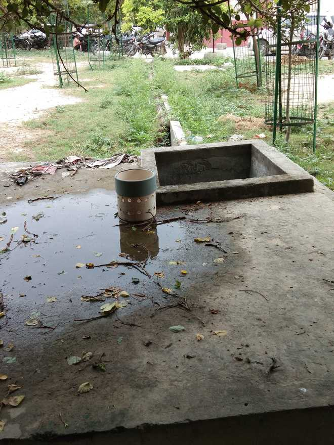 Rainwater harvesting system a mirage in Kaithal district