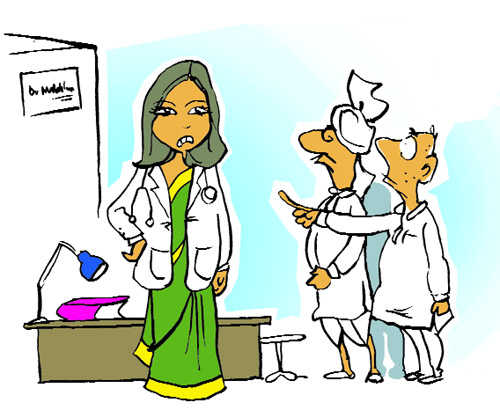 Disgruntled doctors, distrustful patients