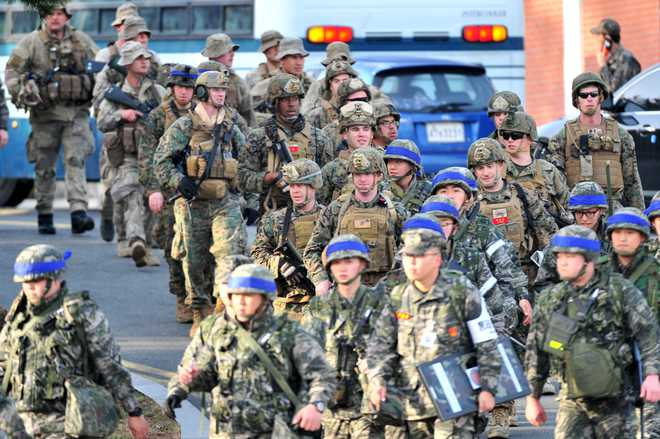 Cost of one of those 'expensive' US-S Korea military exercises? $14 mn
