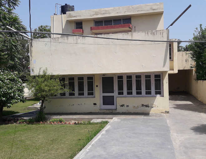 Admn has no record of house allotment to dismissed DSP
