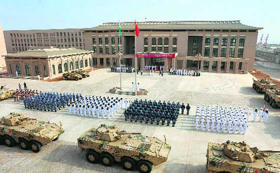 Why China makes military forays into Africa