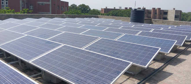 GND varsity's solar plant project nears completion