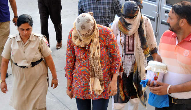 Five-day remand for sister duo
