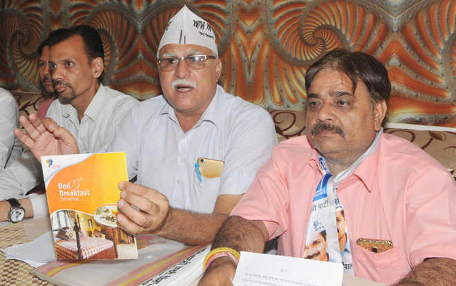 Tourism scheme causing loss to exchequer: AAP