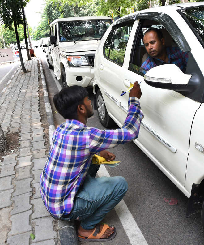 Old parking rates back in Chandigarh