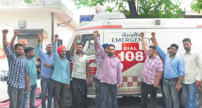 Ambulance workers' stir hits health services