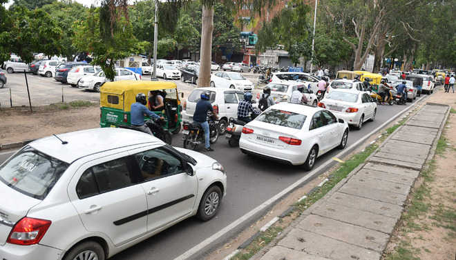 One-day parking bonanza ends in Chandigarh