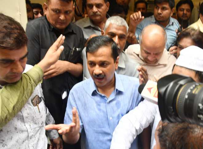 Kejriwal warns school over confinement of KG students in basement