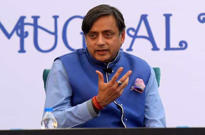 BJP hits back at Tharoor, asks Rahul Gandhi to apologise