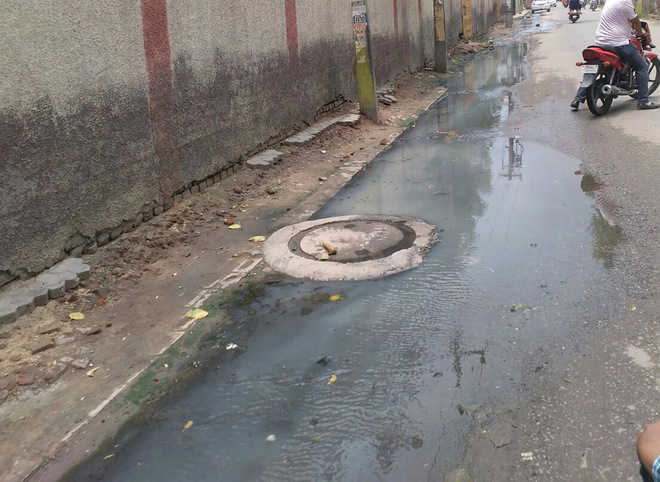 MCB flooded with complaints of sewage overflow for a month