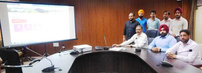 Barnala admn website made compatible for visually impaired