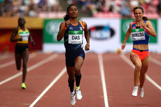 Hima Das scripts history, becomes first woman to win gold in World Junior Athletics