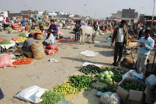 Vegetable market likely to be shifted from Vallah