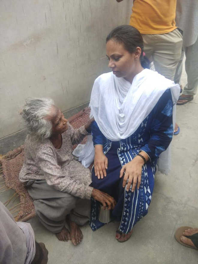 DLSA rescues 100-year-old woman