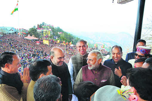 Thakur carves out political space