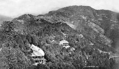 Shimla, Imperial Capital to shanty living