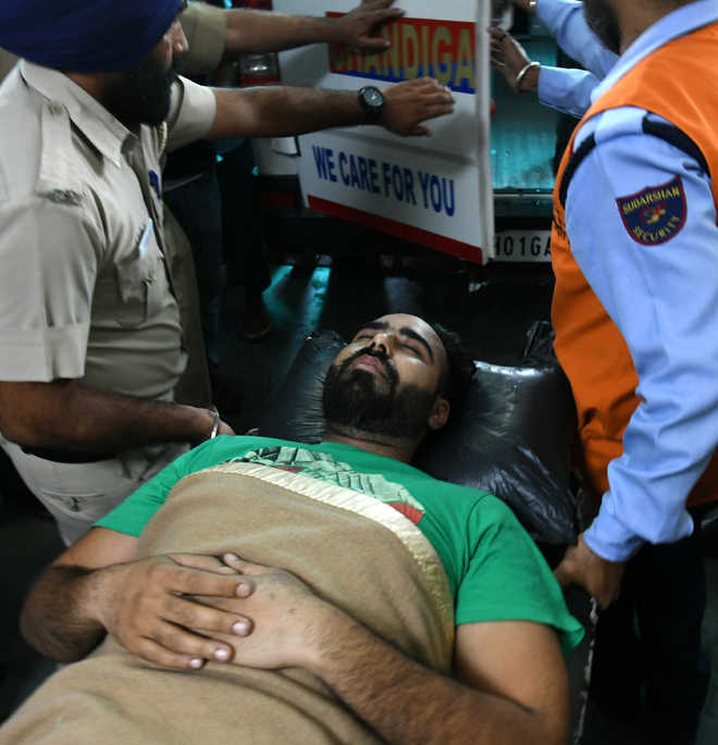 Dilpreet discharged from PGI, in two-day remand