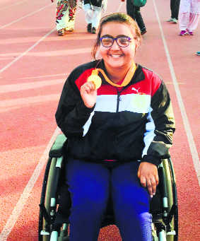 A promising para-athlete, a plucky HCS officer