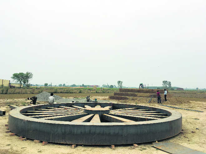 Ashoka Chakra to restore Buddhist identity to Yamunanagar village