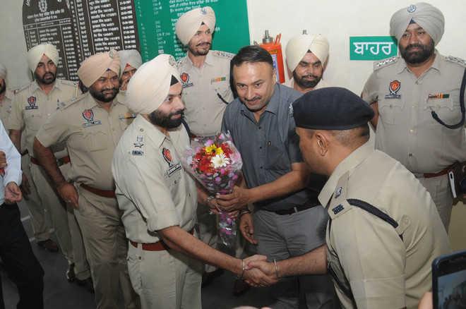 SSP Nanak Singh assumes charge