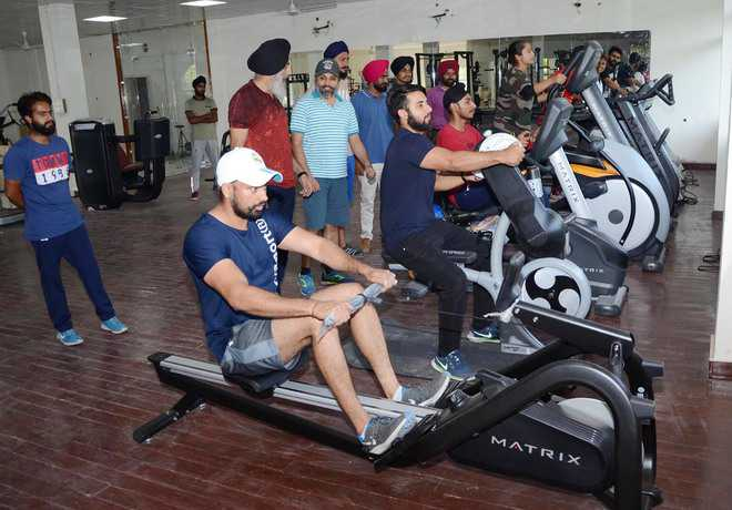 Varsity comes up with fitness centre