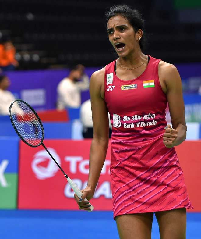 Sindhu overcomes Tunjung, sets up final clash with Okuhara