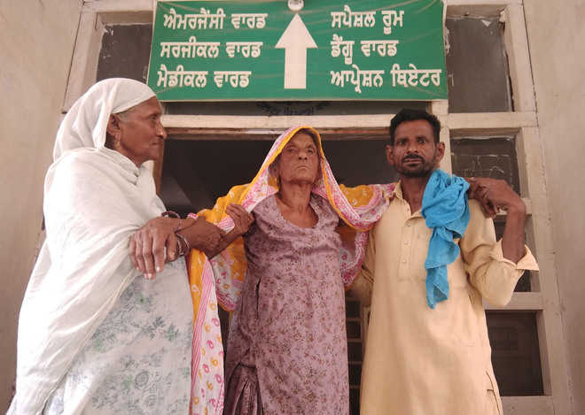 Critical patients left to fend for themselves at Civil Hospital