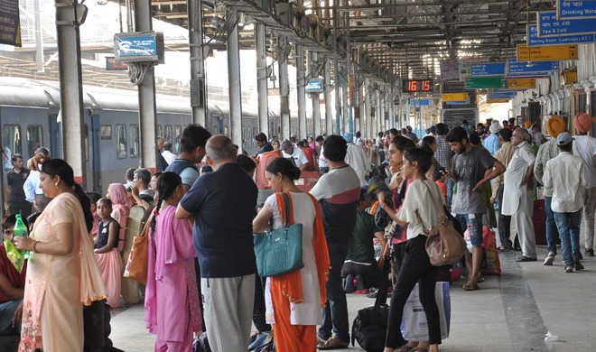 Almost no train for a fortnight from city railway station