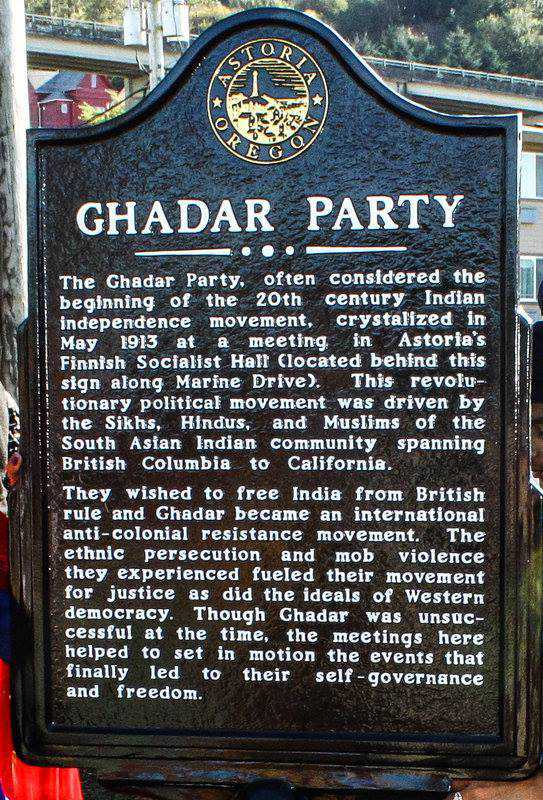 Ghadar movement to be part of Oregon school curriculum