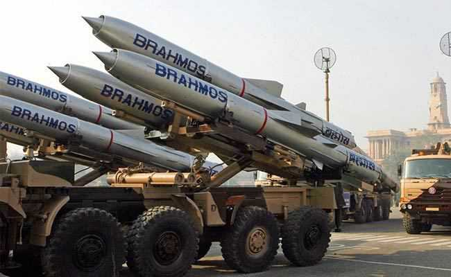 BrahMos with 'Make in India' sub-system fired