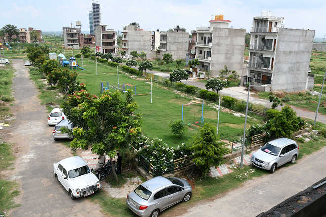 Two townships ready for stay in New Chandigarh