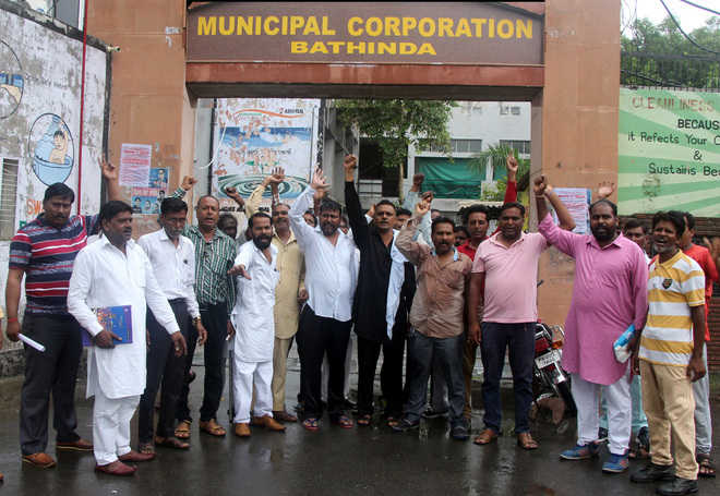 Sanitation workers go on two-day strike