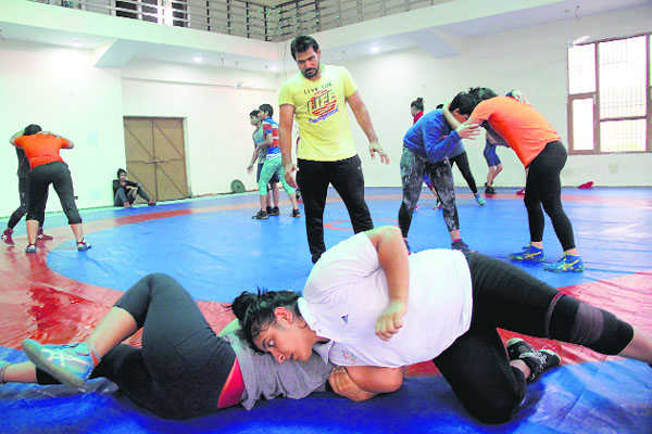 Rohtak stadium a nursery of wrestlers
