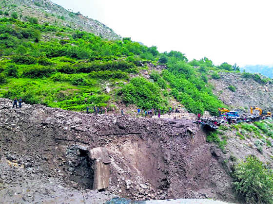 4 washed away in Chamoli cloudburst