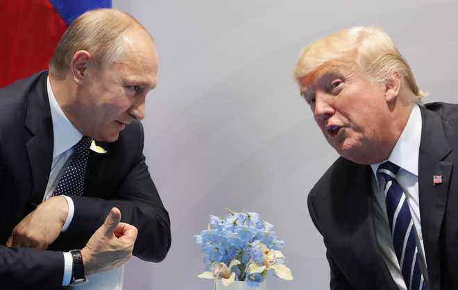 Concern in White House over intelligence chief's Russian summit surprise..