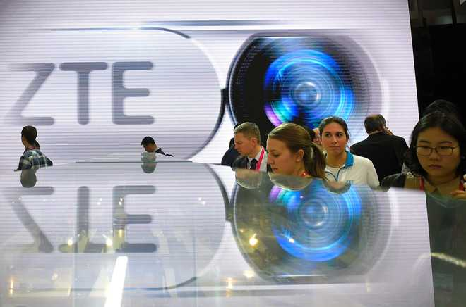 US  lawmakers cut anti-ZTE measure from defense bill