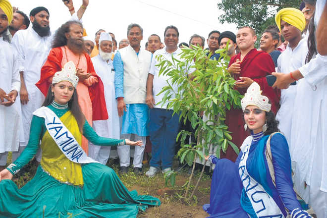Save Rispana campaign: 2.5 lakh saplings planted along river banks